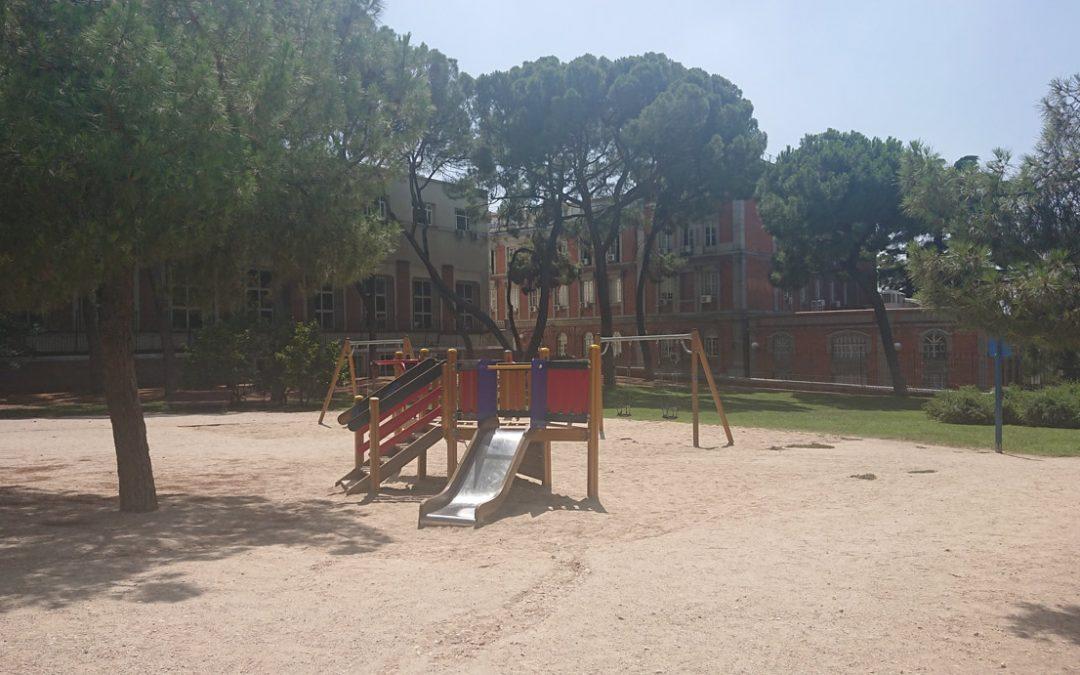 Parque del Retiro – Puerta del Angel Caído