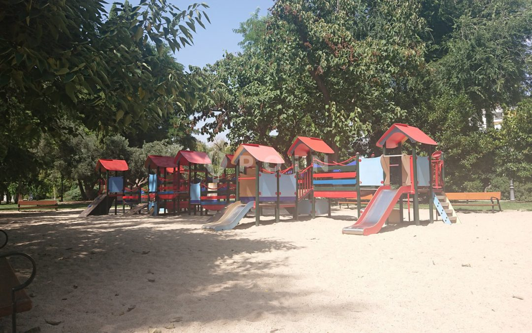 Parque del Retiro – Puerta de Herrero Palacios
