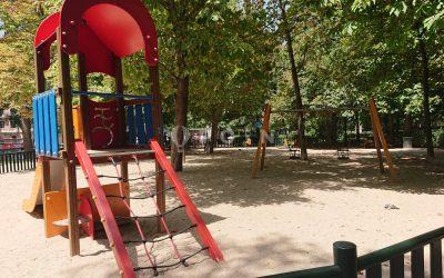Parque del Retiro – Puerta de España