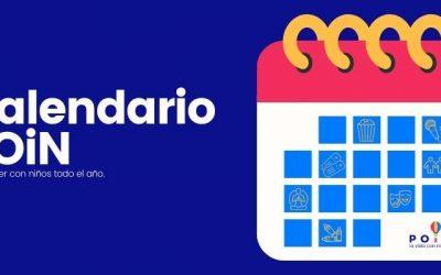 Un calendario de planes con niños todo el año.