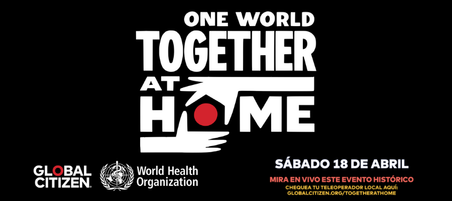 One World – together at home – 18/04/2020