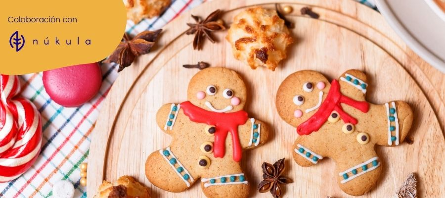 Dulces navideños con niños